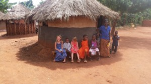 Language barriers don't seem to be a hinderance to children. Smooth and Kelly's girls join right in to village life and even lead the children's ministry.
