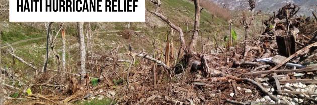 Haiti Hurricane Relief