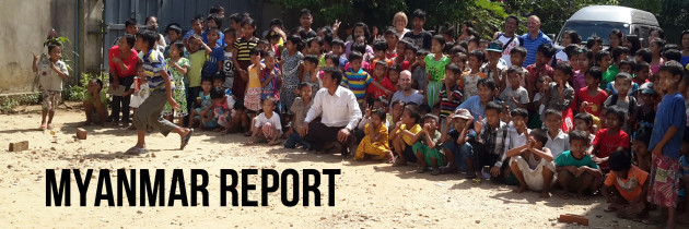 A Picture of the Gospel – Myanmar Report