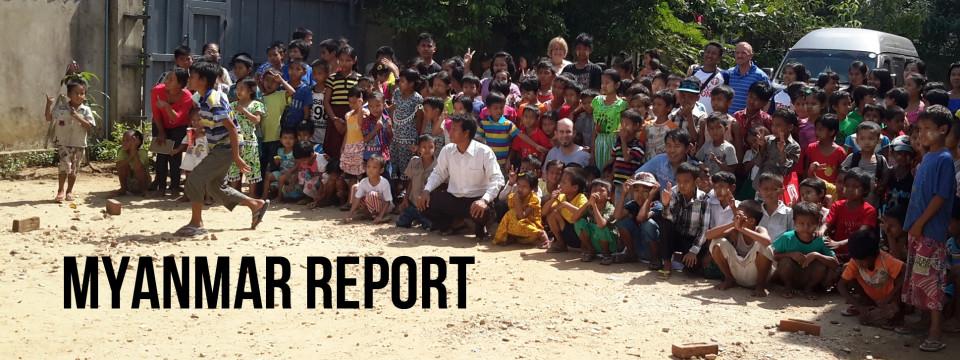A Picture of the Gospel – Myanmar Report