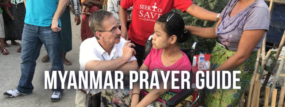 Myanmar Prayer Guide
